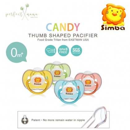 Simba Candy Thumb Shaped Pacifier 0m+