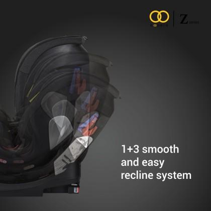 Koopers Zumba Zip Convertible Car Seat