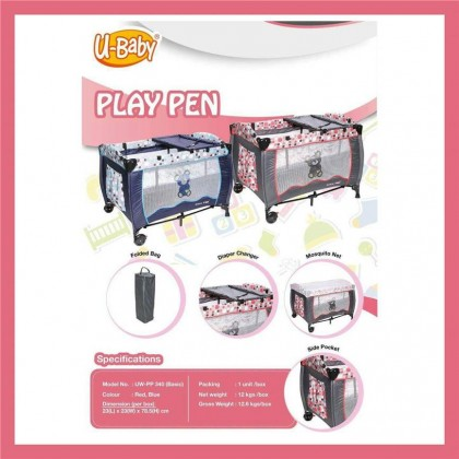 U-Baby Playpen Basic
