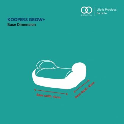 Koopers Grow+ Isofix Booster Seat