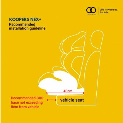 Koopers Nex+ Booster Car Seat