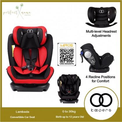 Koopers Lambada Convertible Car Seat