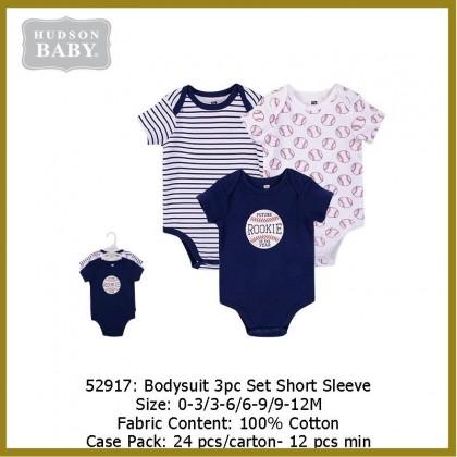 Hudson Baby Bodysuit Set 3pc - 52917