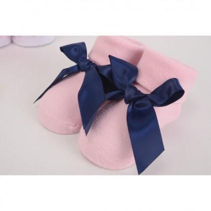 Hudson Baby Giftset 3pc Headband & 3pc Socks - 58276