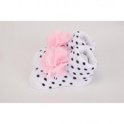 Hudson Baby Giftset 3pc headband & 3pc Socks - 58278