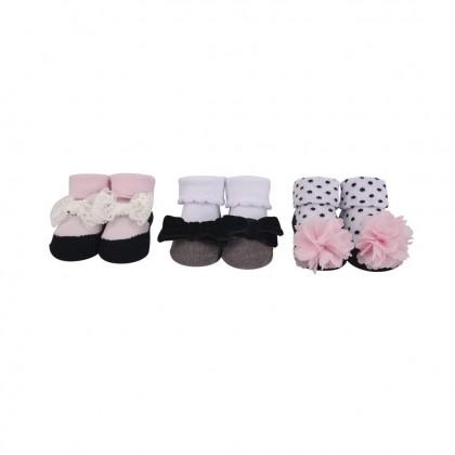 Hudson Baby Giftset 3pc Headband & 3pc Socks -58277