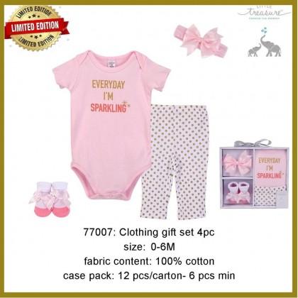 Little Treasure Clothing Gift Set 4pc - LT77007