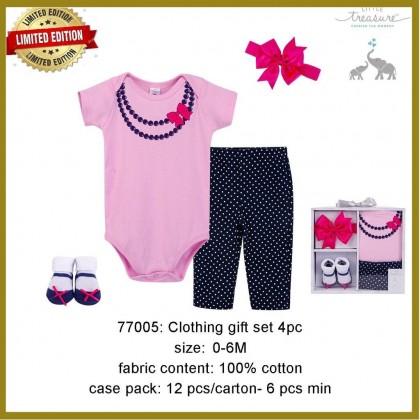 Little Treasure Clothing Gift Set 4pc - LT77005