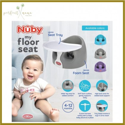 Nuby My Floor Seat  Booster Seat 4m+