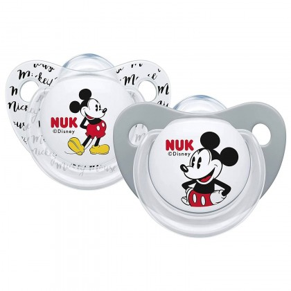 NUK Disney Mickey Silicone Orthodontic Soother