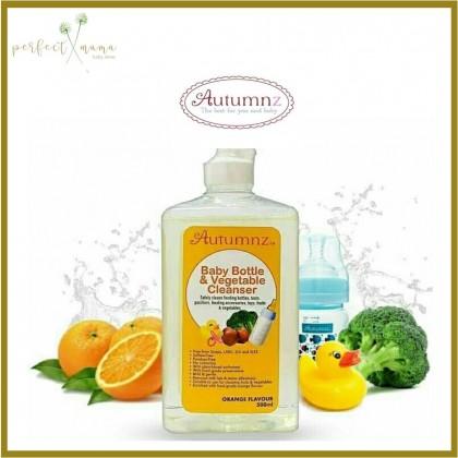 Autumnz Baby Bottle & Vegetable Cleanser 500ml - Orange