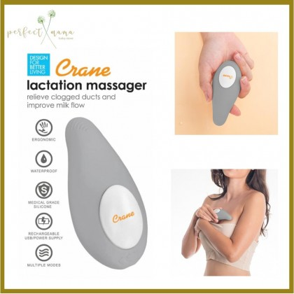 Crane Lactation Massager - Breastfeeding Helper