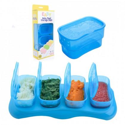 Autumnz Easy Breastmilk & Baby Food Storage Cups 2/4oz
