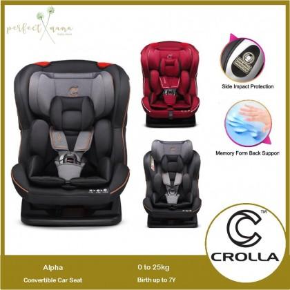 Crolla Alpha Convertible Car Seat