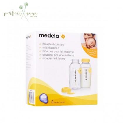 Medela Breastmilk Storage Bottle 250ml 2pcs