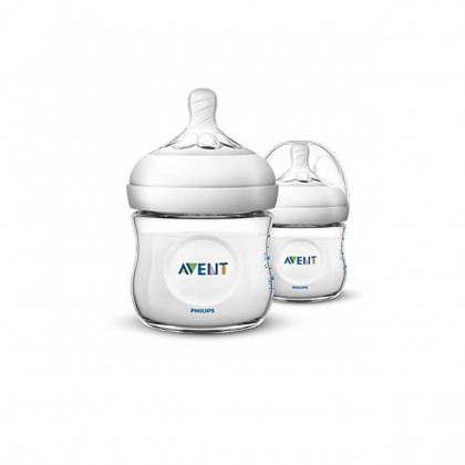 Avent Natural 4oz/125ml Twin Pack
