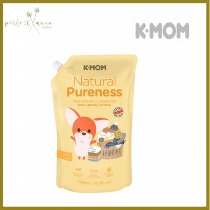 K-mom Natural Baby Fabric Softener Refill Pack 1300ml