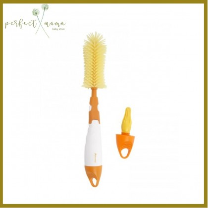 Autumnz Deluxe 2 In 1 Soft Silicone Bottle Brush