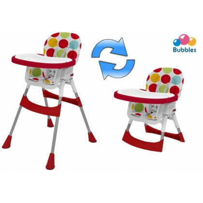 Bubbles 2 in 1 High Chair