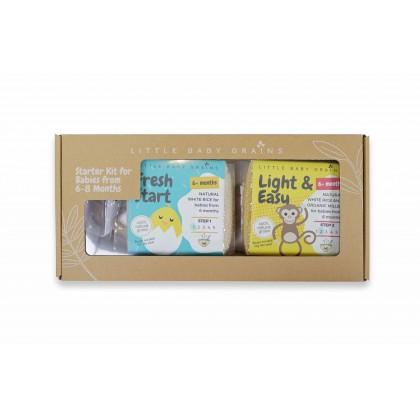 Little Baby Grains Starter Kit For Babies 6-8 Months