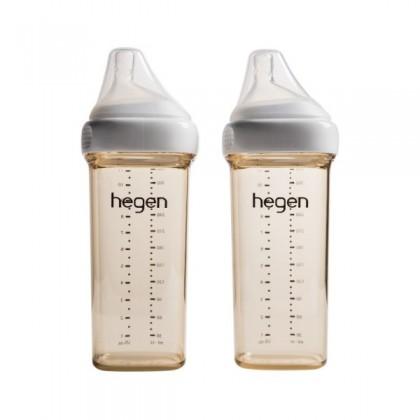 Hegen PCTO Feeding Bottle PPSU 2pack - 150ml/240ml/330ml