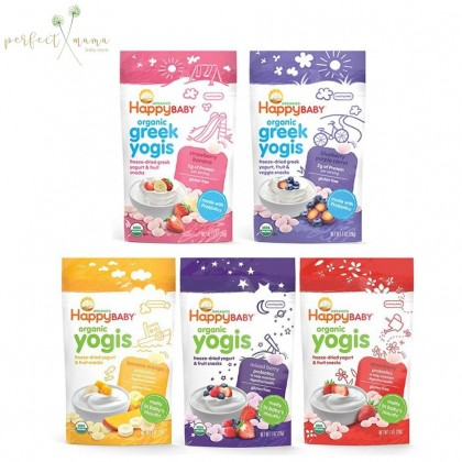 Happy Baby Organic Yogis 28g