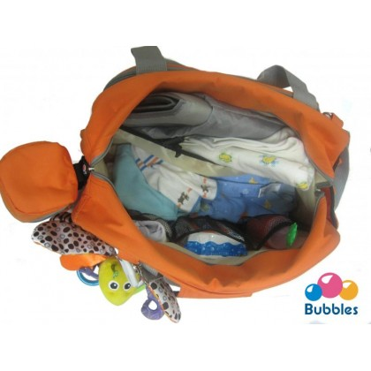 Bubbles Messenger Diaper Bag